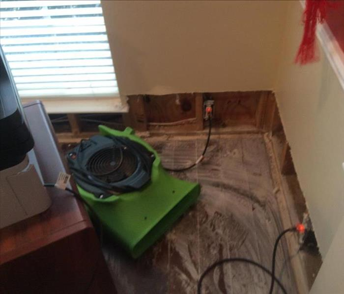 Storm Water Soaks this Portland Room Before