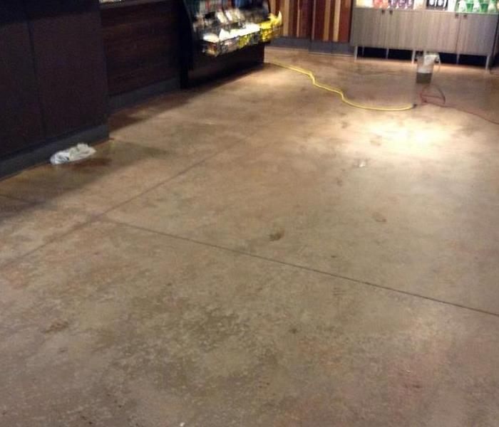 Flooding in Portland Coffee Shop After