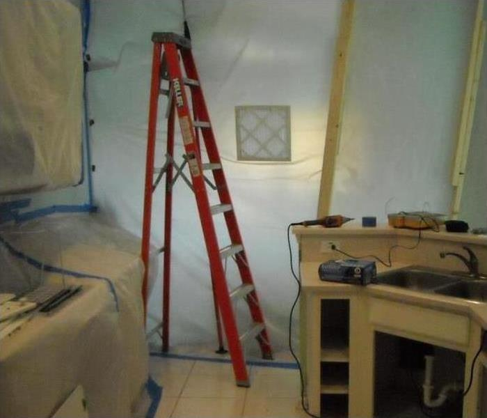 Mold Damage – Portland Bathroom