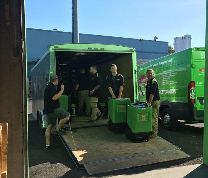Storm Damage SERVPRO of NW Portland Mobilizes to Help Louisiana Flood Victims