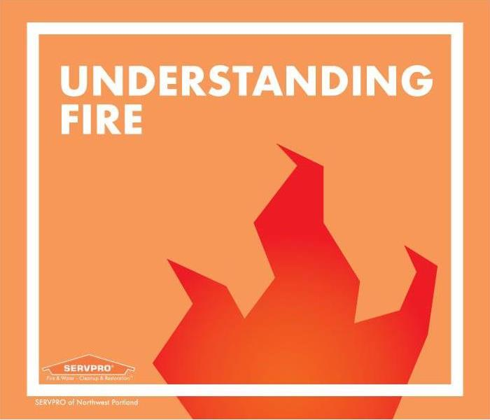 flame icon sitting inside frame with text that says understanding fire